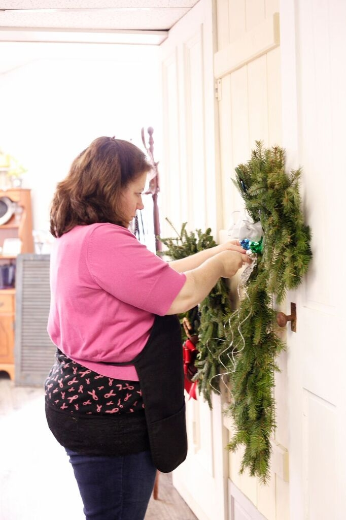 wreath making pic 5