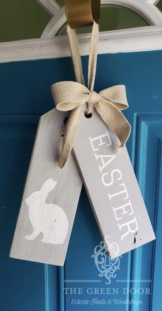 Take Home Diy Kit Easter Door Tag The Green Door